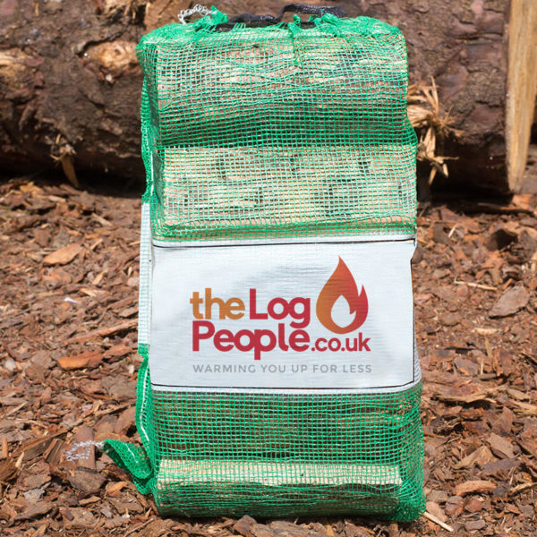 Ready to burn seasoned softwood logs from The Log People