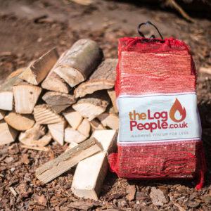 Ready To Burn Kiln Dried Hardwood Logs - Nets