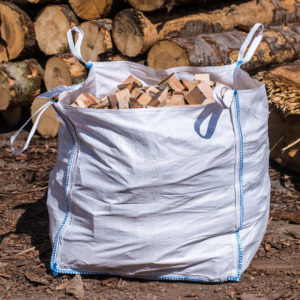 Small sawmill off cuts - dumpy bags