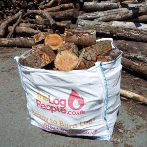 Large kiln dried hardwood logs from The Log People