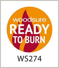 Woodsure Ready To Burn approved kiln dried firewood logs by The Log People