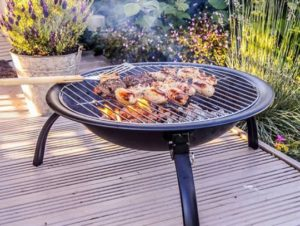 Grill over fire pit