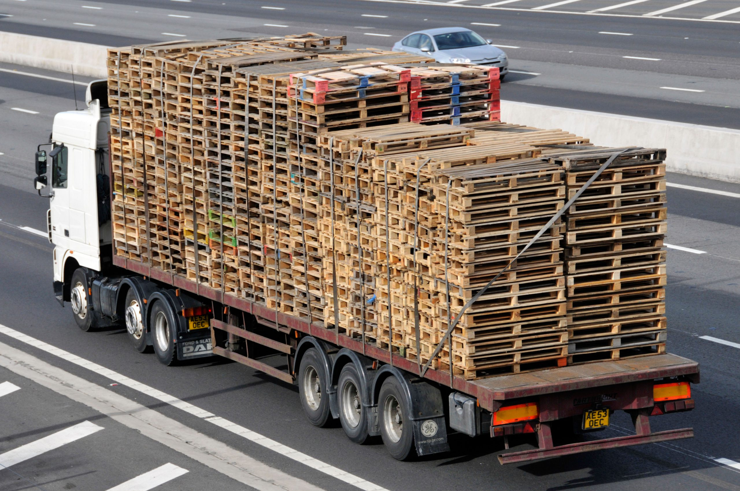 Pallets delivered Shropshire by The Log People