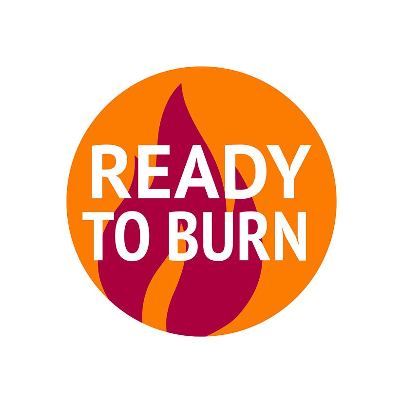 Ready To Burn logo